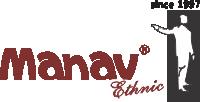Manav Ethnic Logo